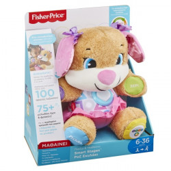FISHER PRICE ΕΚΠΑΙΔΕΥΤΙΚΟ ΣΚΥΛΑΚΙ SM. STAGES ΡΟΖ