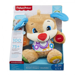 FISHER PRICE ΕΚΠΑΙΔΕΥΤΙΚΟ ΣΚΥΛΑΚΙ SMART STAGES
