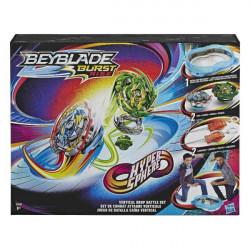 BEYBLADE S4 HYPERSPHERE VERTICAL DROP BATTLE SET