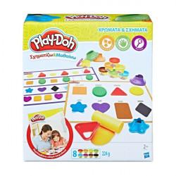 Play-Doh B3404 ΧΡΩΜΑΤΑ ΚΑΙ ΣΧΗΜΑΤΑ