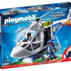 6921 Playmobil Ελικόπτερο Αστυνομίας