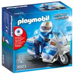 6923 Playmobil Μοτοσικλέτα Αστυνομίας