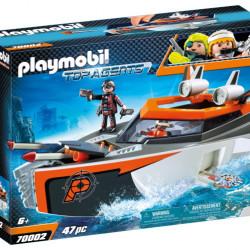 70002 Playmobil Κατασκοπευτικό σκάφος της Spy team