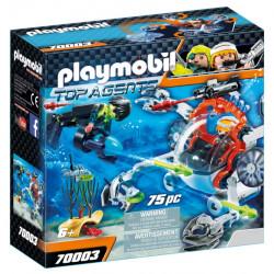 70003 Playmobil Υποβρύχιο σκάφος της Spy team