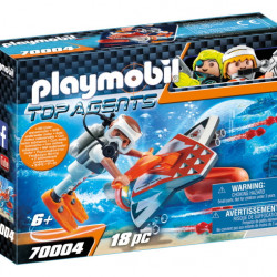 70004 Playmobil Υποθαλάσσιο τζετ της Spy team