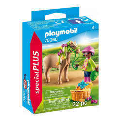 70060 Playmobil Κορίτσι με πόνυ