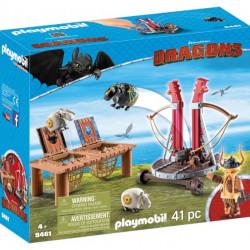9461 Playmobil Ο Σκόρδος με καταπέλτη προβάτων